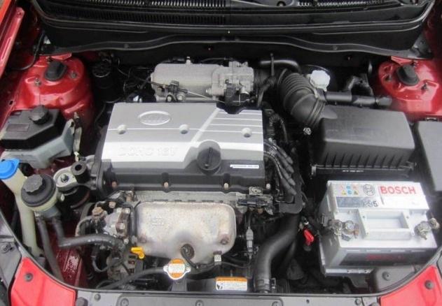 кто производит двигатели для киа рио